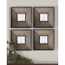 Fendrel Square Mirrors, S/4