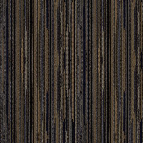 Flash Furniture - 18.5''W Church Chair in Canyon Blissful Blue Fabric - Gold Vein Frame