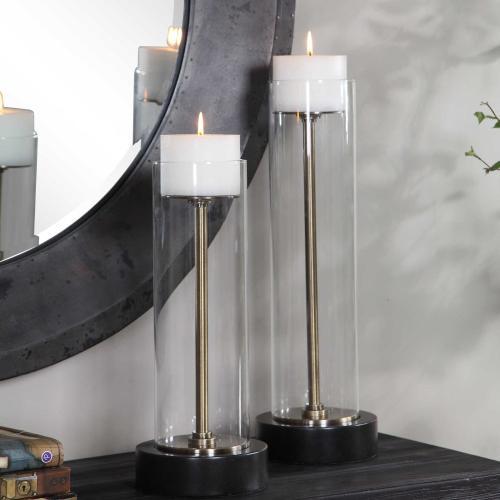 Uttermost - Charvi Candleholders, S/2