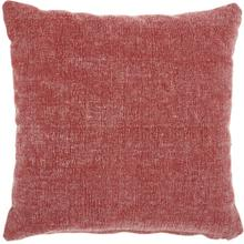 "Life Styles Gt626 Red 18"" X 18"" Throw Pillow"