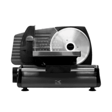 Kalorik 180 Watts Professional Style Food Slicer, Black