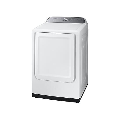 Samsung - 7.4 cu. ft. Electric Dryer with Sensor Dry in White