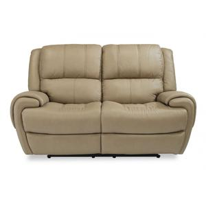 FlexsteelNance Power Reclining Loveseat with Power Headrests