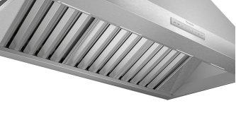 wall-mounted cooker hood, pyramid design 48'' Stainless steel HPCN48WS