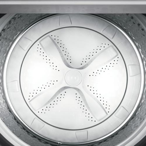 GE® 5.5 cu. ft. (IEC) Capacity Washer with FlexDispense White - GTW720BSNWS