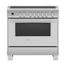 """See Details - Induction Range, 36"""", 5 Zones with SmartZone, Self-cleaning"""