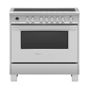 """Fisher & PaykelInduction Range, 36"""", 5 Zones with SmartZone, Self-cleaning"""