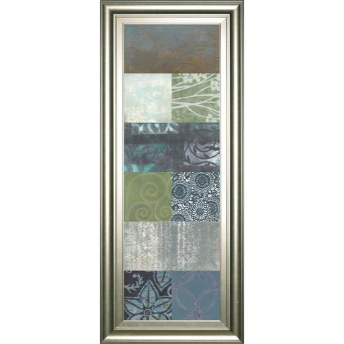 "Classy Art - ""Zen Panel Il"" By Vision Studio Framed Print Wall Art"