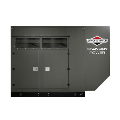 Briggs and Stratton - 100kW 1 Natural Gas Standby Generator - Power Your Home or Business Even When the Lights Go Out