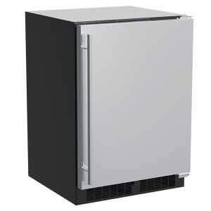 Marvel24-In Built-In Refrigerator With Door Storage with Door Style - Stainless Steel, Door Swing - Right
