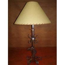 See Details - Horse Head Metal Lamp