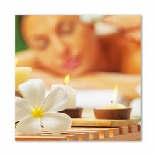 See Details - Massage With Flowers Fine Wall Art