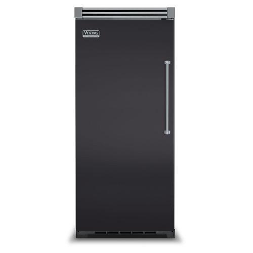 "Viking - Graphite Gray 36"" Quiet Cool™ All Refrigerator - VIRB Tru-Flush™ (Left Hinge Door)"