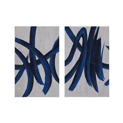 Blue Stripes (S/2)