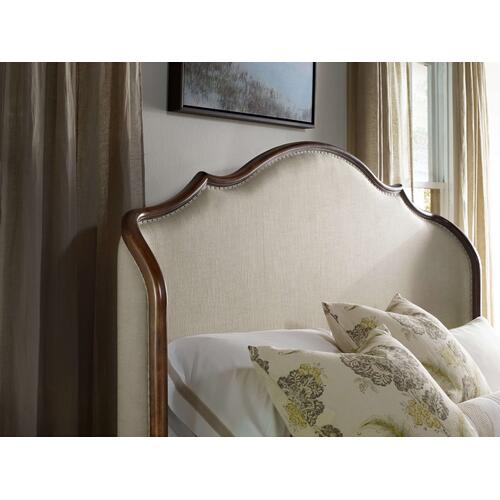 Product Image - Archivist King Upholstered Shelter Bed