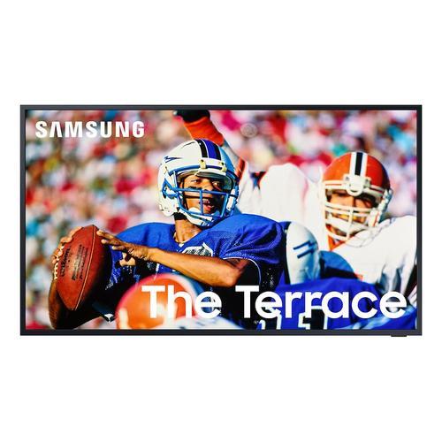 """Samsung - 75"""" Class The Terrace Full Sun Outdoor QLED 4K Smart TV"""