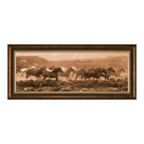 The Ashton Company - Racing the Storm II 16x45 Giclee On Canvas