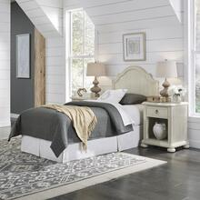 Provence Twin Headboard and Two Nightstands