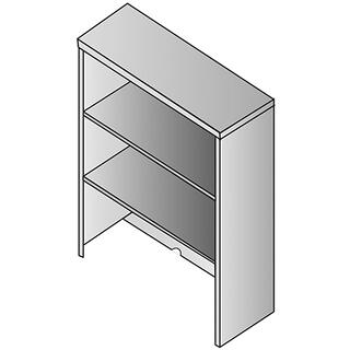 See Details - Napa Bookcase Hutch 36x14x36h
