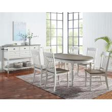 Giles 7 Piece Dining Set(Table & 6 Side Chairs)