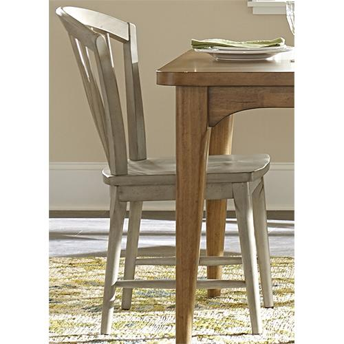 Liberty Furniture Industries - Windsor Side Chair - Gray