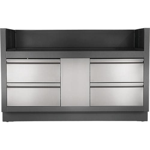 OASIS Under Grill Cabinet for Built-in Prestige PRO 825 , Grey