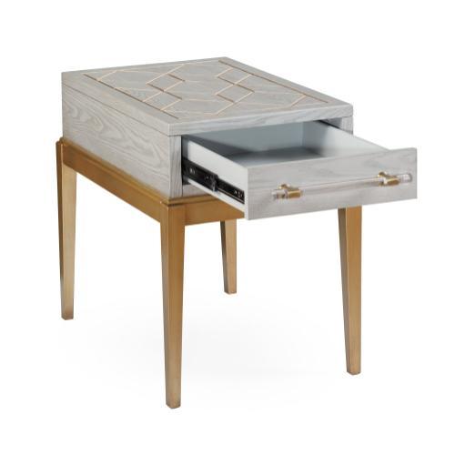 Bassett Mirror Company - Perrine Chairside Table