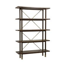 Light Brown Bamboo Etagere