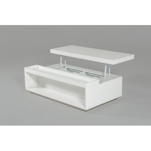 Modrest Nancy - Modern White Coffee Table