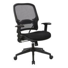 Executive High Back Dark Airgird and Black Mesh Chair