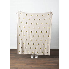 See Details - Bee Knit Throw