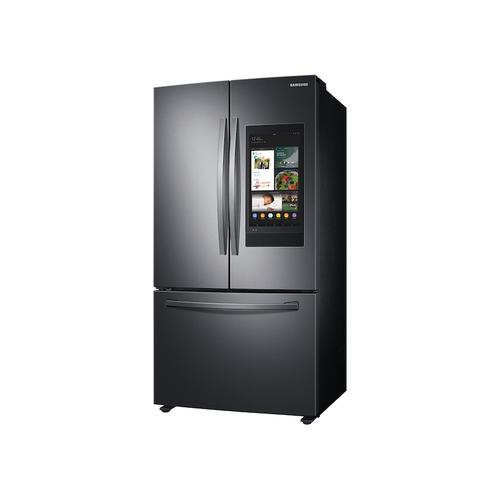28 cu. ft. 3-Door French Door Refrigerator with Family Hub™ in Black Stainless Steel