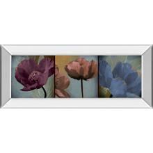 """Blooming Jewels"" By Robert Lacie Mirror Framed Print Wall Art"