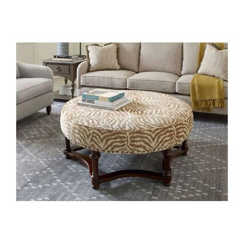 Hampstead Round Cocktail Ottoman