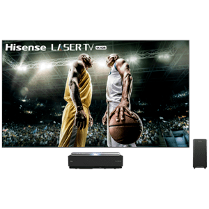 "120"" Class - L10 Series - 4K UHD Hisense Smart Laser TV with HDR and Wide Color Gamut (2019)"