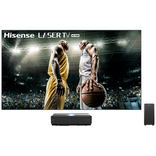 """100"""" Class - L10 Series - 4K UHD Hisense Smart Laser TV with HDR and Wide Color Gamut (2019) SUPPORT"""