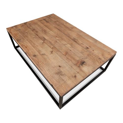 Brick Maker's Boards Coffee Table