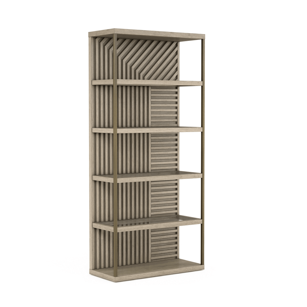 See Details - North Side Etagere Bookcase