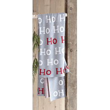 """Ho Ho Ho"" Knit Throw"