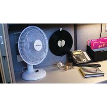 "12"" Oscillating Table Fan (White)"