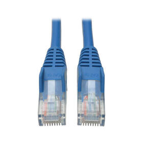 Cat5e 350 MHz Snagless Molded (UTP) Ethernet Cable (RJ45 M/M) - Blue, 20 ft.