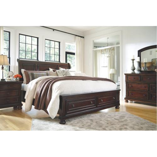 Porter Queen Sleigh Bed