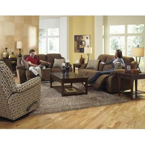 Power Recl Sofa w/Lighted Button
