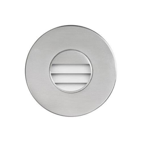 Brushed Alum Round In/outdoor 3w LED