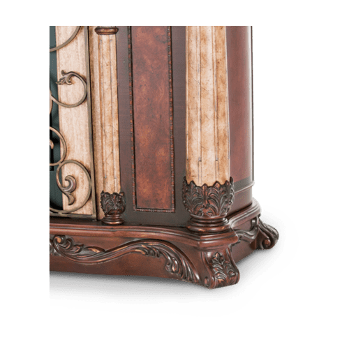 Fireplace w/Curio Top (3 pc)