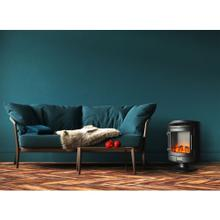 See Details - Cambridge 1500W Freestanding Electric Fireplace with Log Display, CAM20FSEF-1BLK
