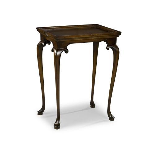 Cabriole Tray-Top Table