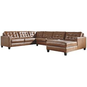 Baskove 4-piece Sectional With Chaise