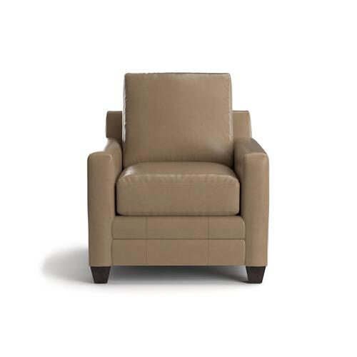 Bassett Furniture - Carolina Leather Thin Track Arm Chair