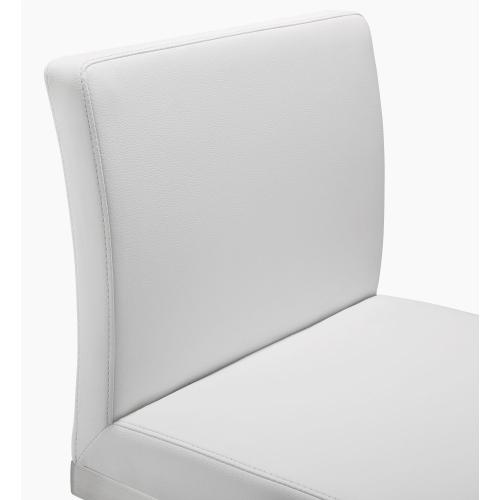 Product Image - Parma White Steel Counter Stool (Set of 2)